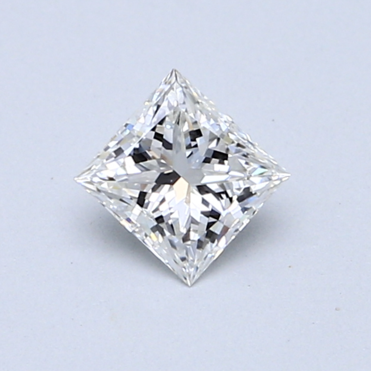 0.46 Carat G VVS2 Princess Diamond