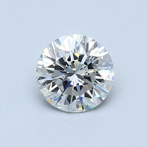 0.66 Carat G SI2 Round Diamond