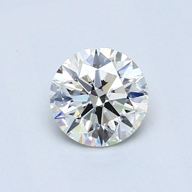 0.61 Carat J SI1 Round Diamond
