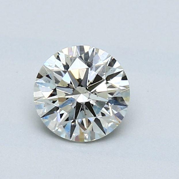0.70 Carat K SI1 Round Diamond