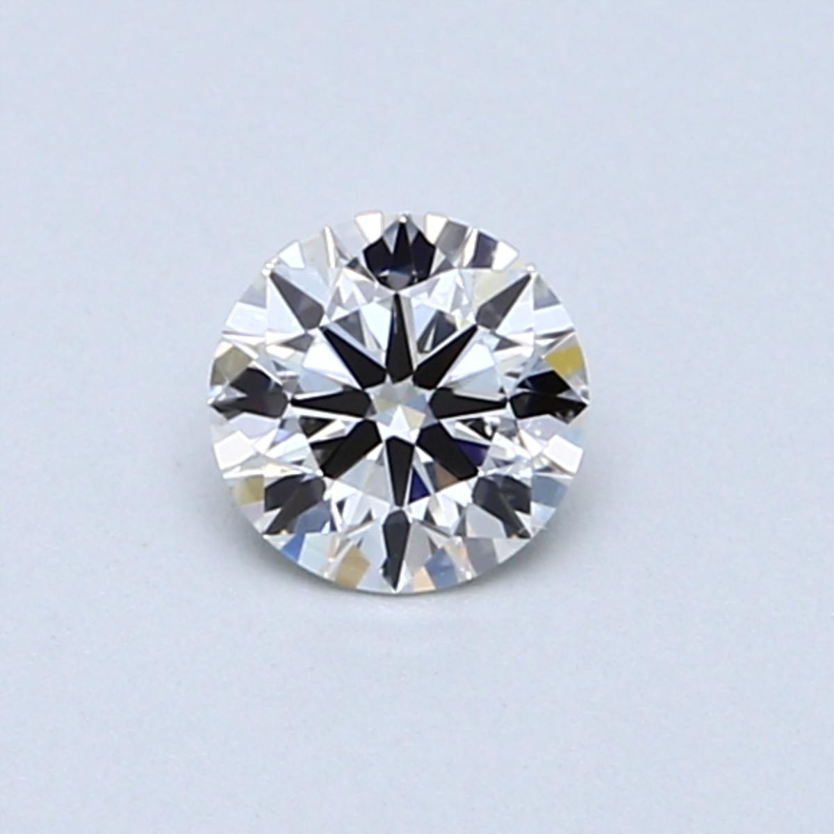 0.40 Carat J SI1 Round Diamond