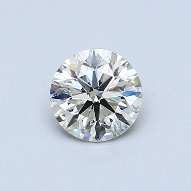 0.51 Carat K SI2 Round Diamond