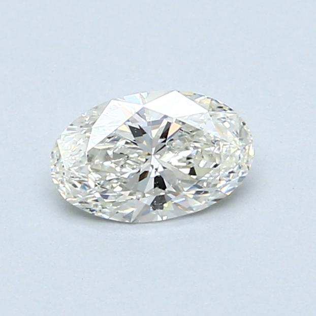 0.50 Carat I SI2 Oval Diamond