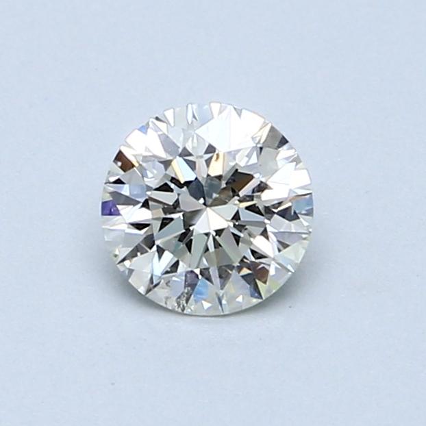 0.55 Carat I SI2 Round Diamond