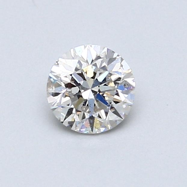 0.51 Carat E SI1 Round Diamond