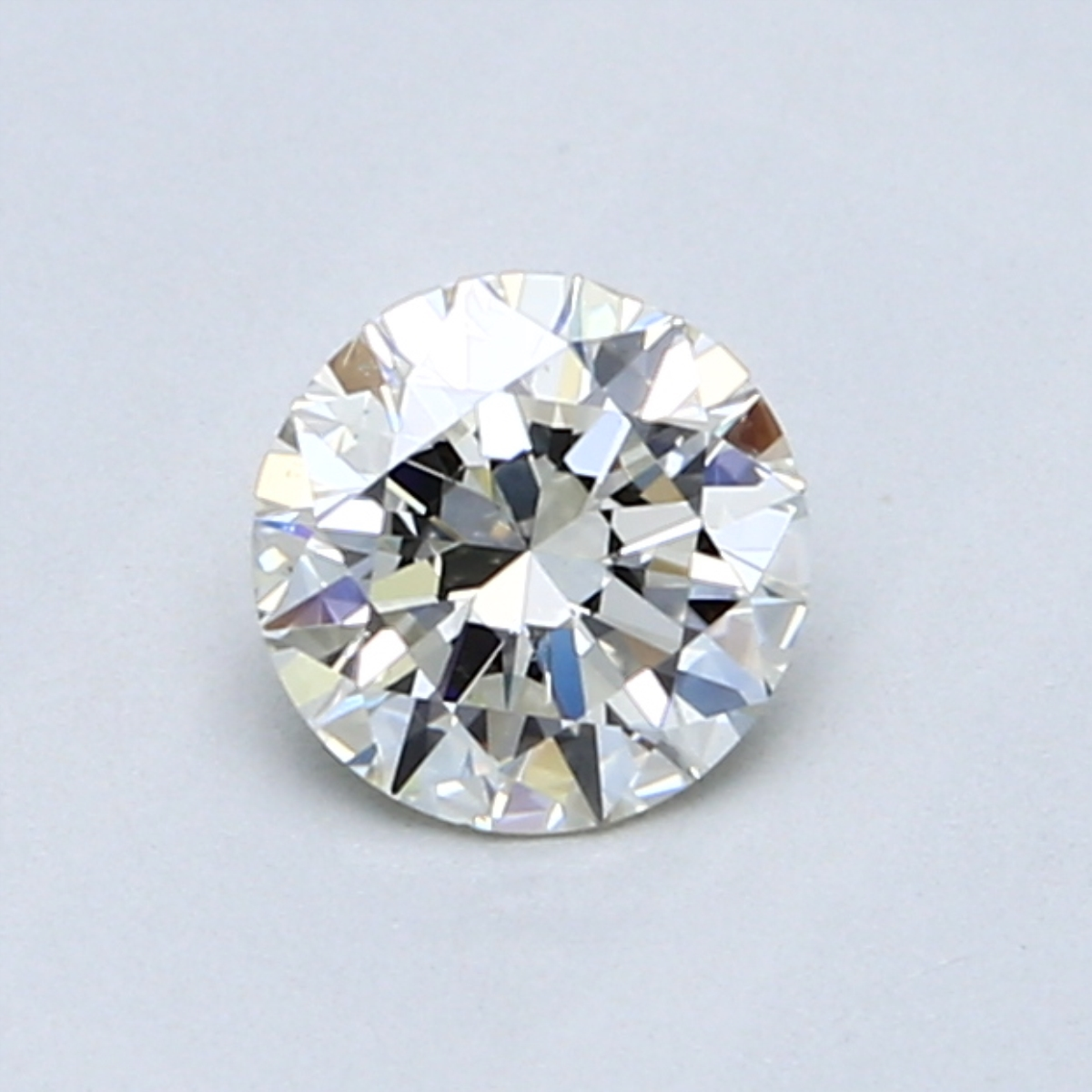 0.59 Carat K SI2 Round Diamond