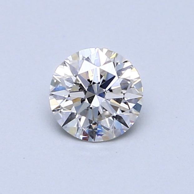 0.50 Carat H SI1 Round Diamond