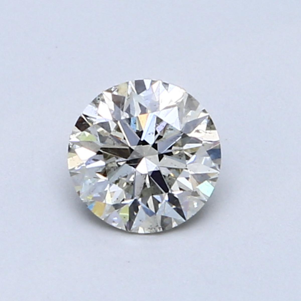 0.61 Carat J SI2 Round Diamond