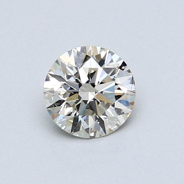 0.56 Carat I SI1 Round Diamond