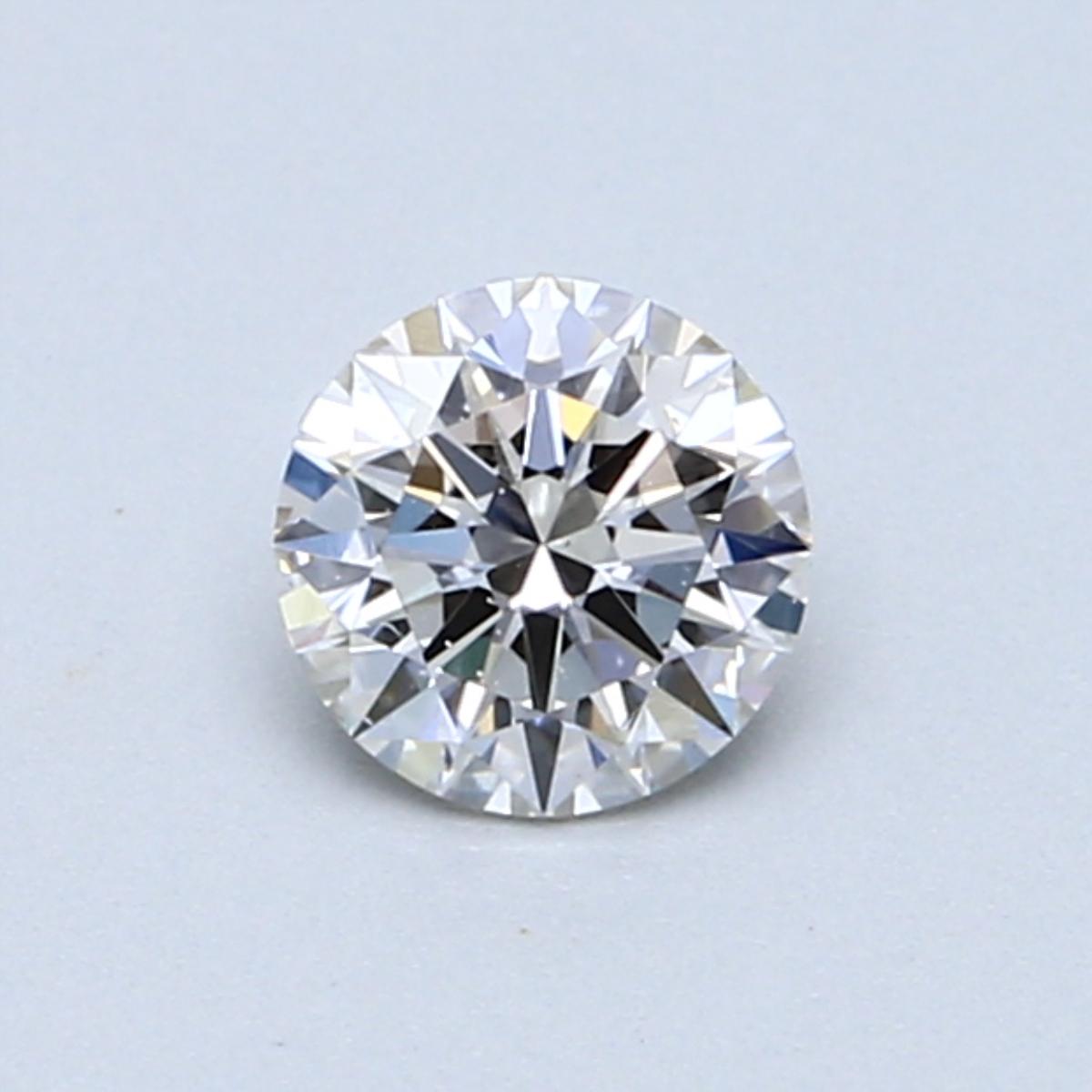 0.52 Carat I SI1 Round Diamond
