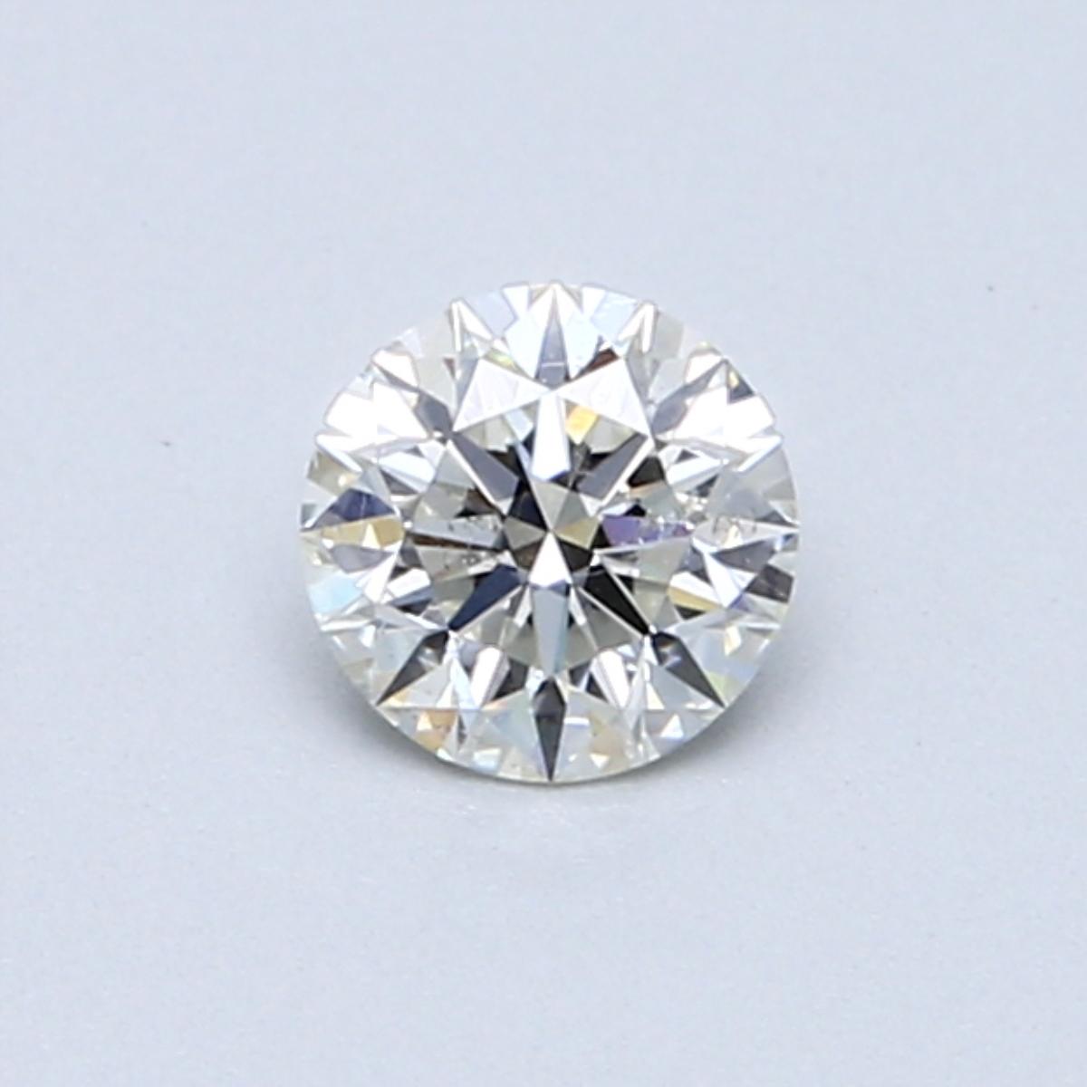 0.42 Carat J SI2 Round Diamond