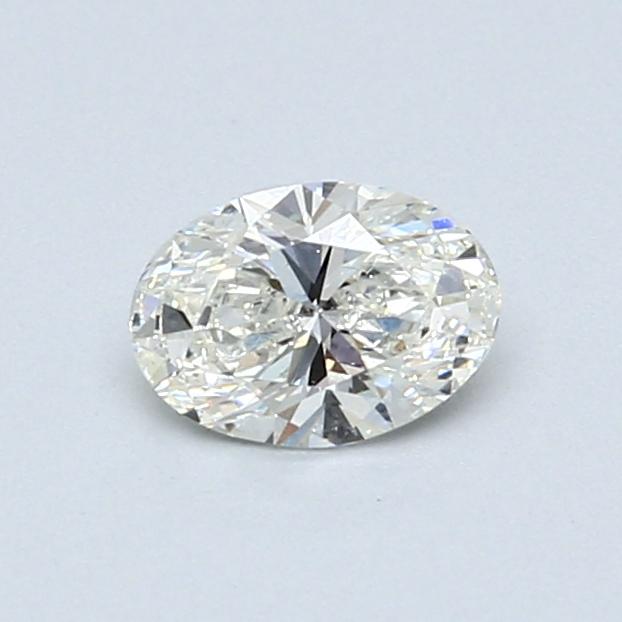 0.51 Carat I VS2 Oval Diamond