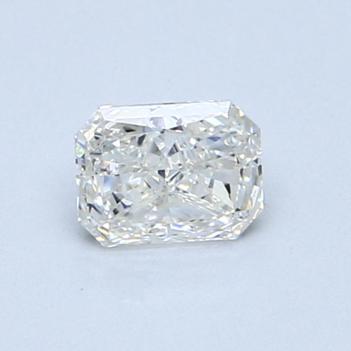 0.50 Carat I SI1 Radiant Diamond