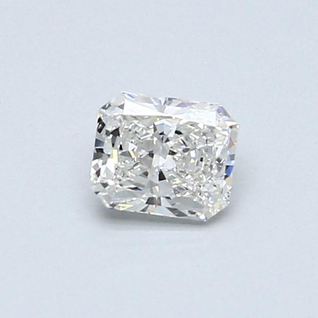 0.42 Carat F VVS2 Radiant Diamond