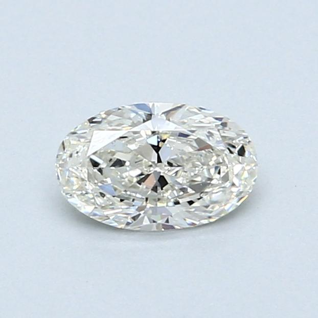 0.50 Carat J VS2 Oval Diamond