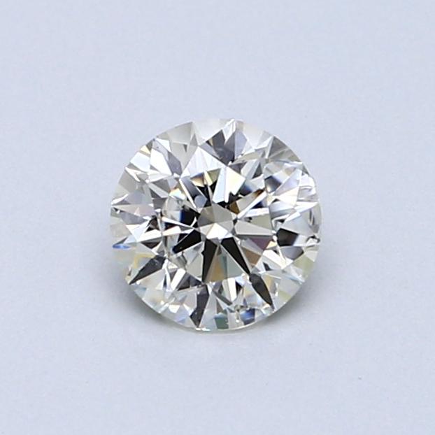 0.52 Carat K VS2 Round Diamond