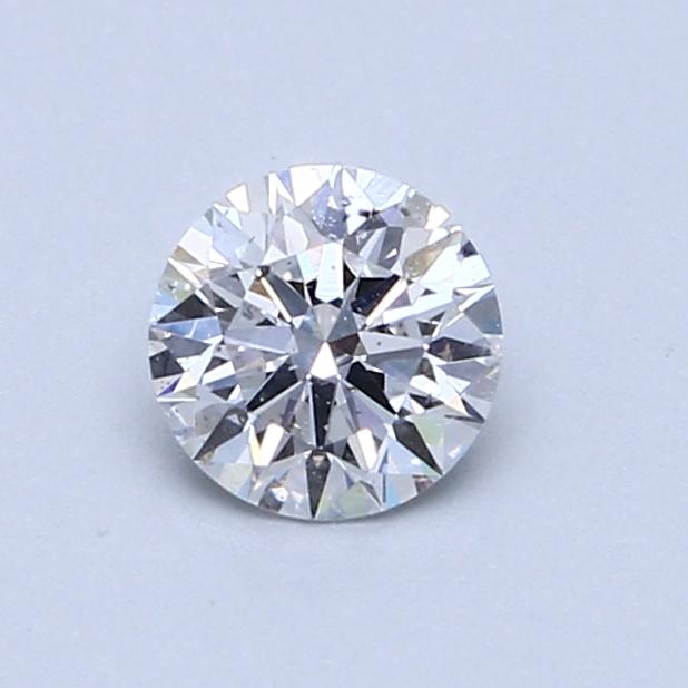 0.59 Carat D SI2 Round Diamond