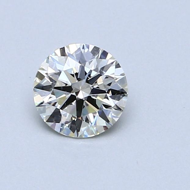 0.52 Carat J SI1 Round Diamond