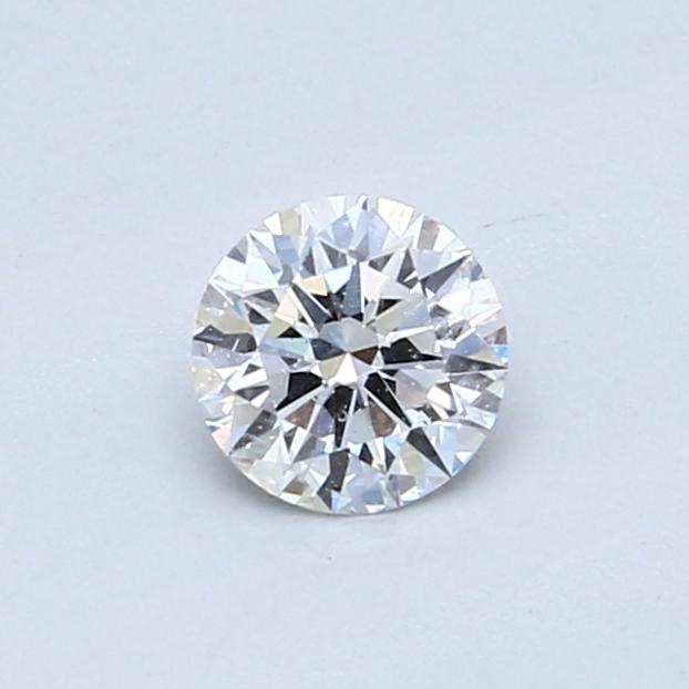 0.43 Carat F SI1 Round Diamond