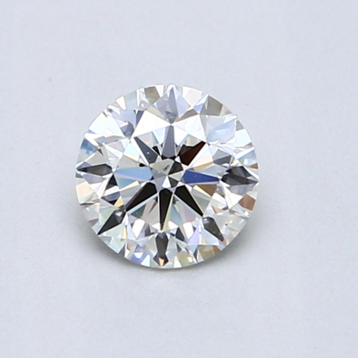 0.60 Carat I VS2 Round Diamond