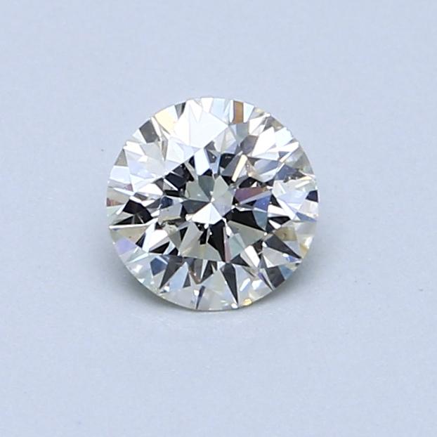 0.50 Carat J SI1 Round Diamond