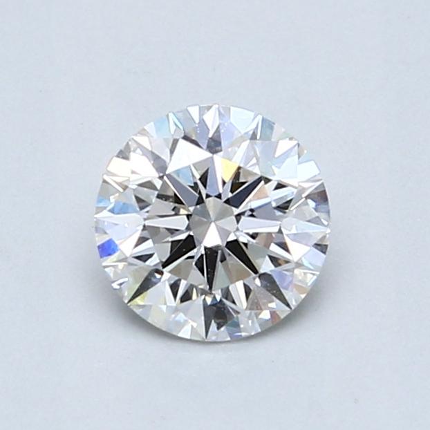 0.73 Carat F VVS2 Round Diamond