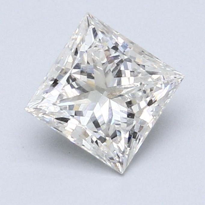 1.66 Carat G-SI1 Ideal Princess Diamond