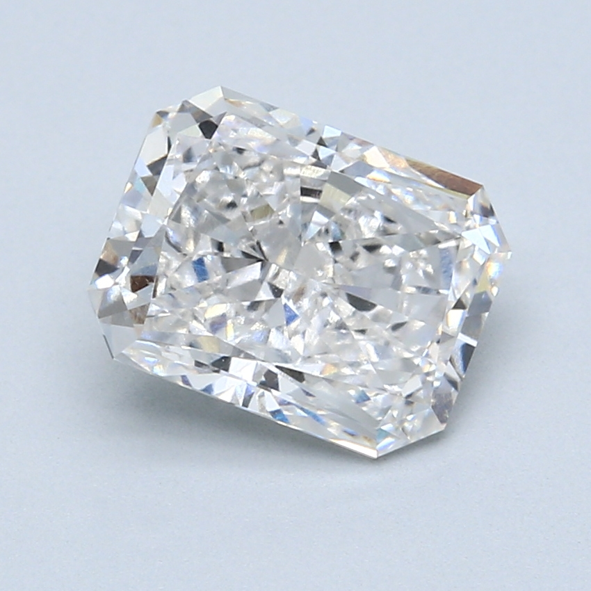 2.77 Carat G-VS1 Ideal Radiant Diamond