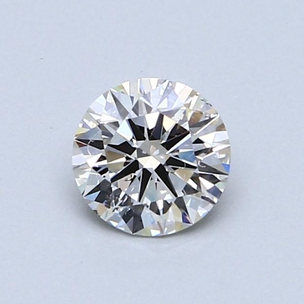 0.62 Carat J SI2 Round Diamond