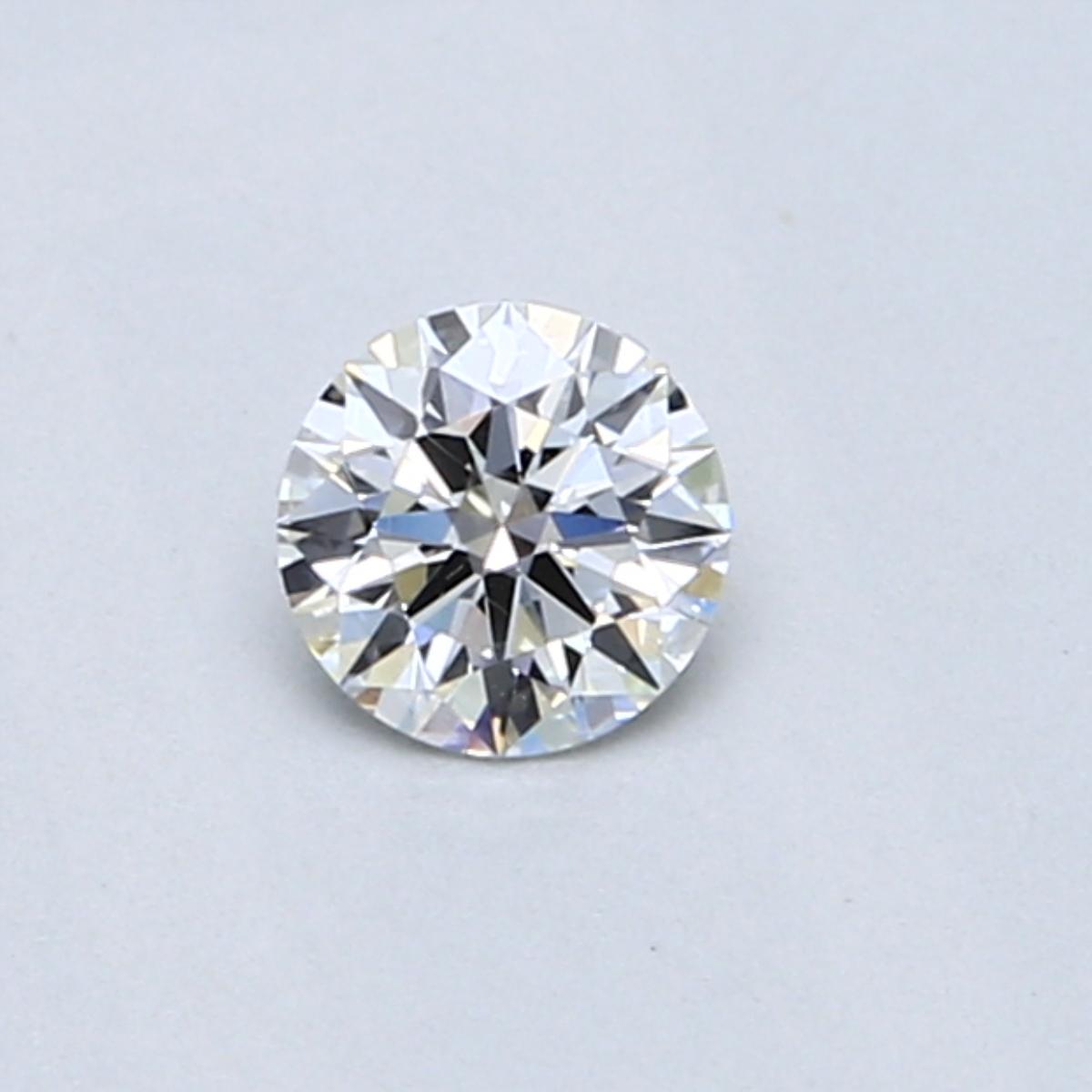 0.31 Carat E SI1 Round Diamond