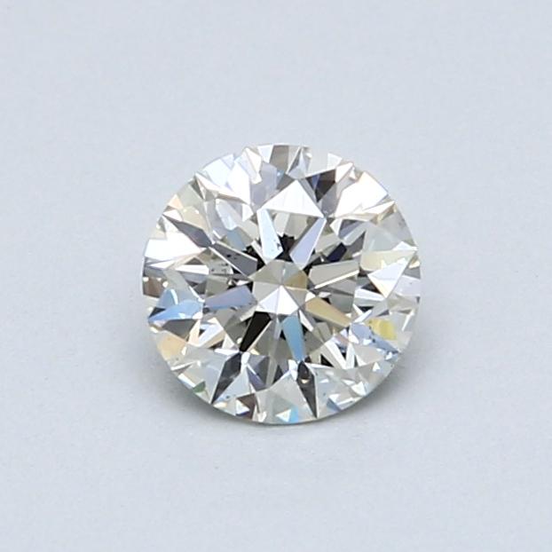 0.57 Carat I SI1 Round Diamond