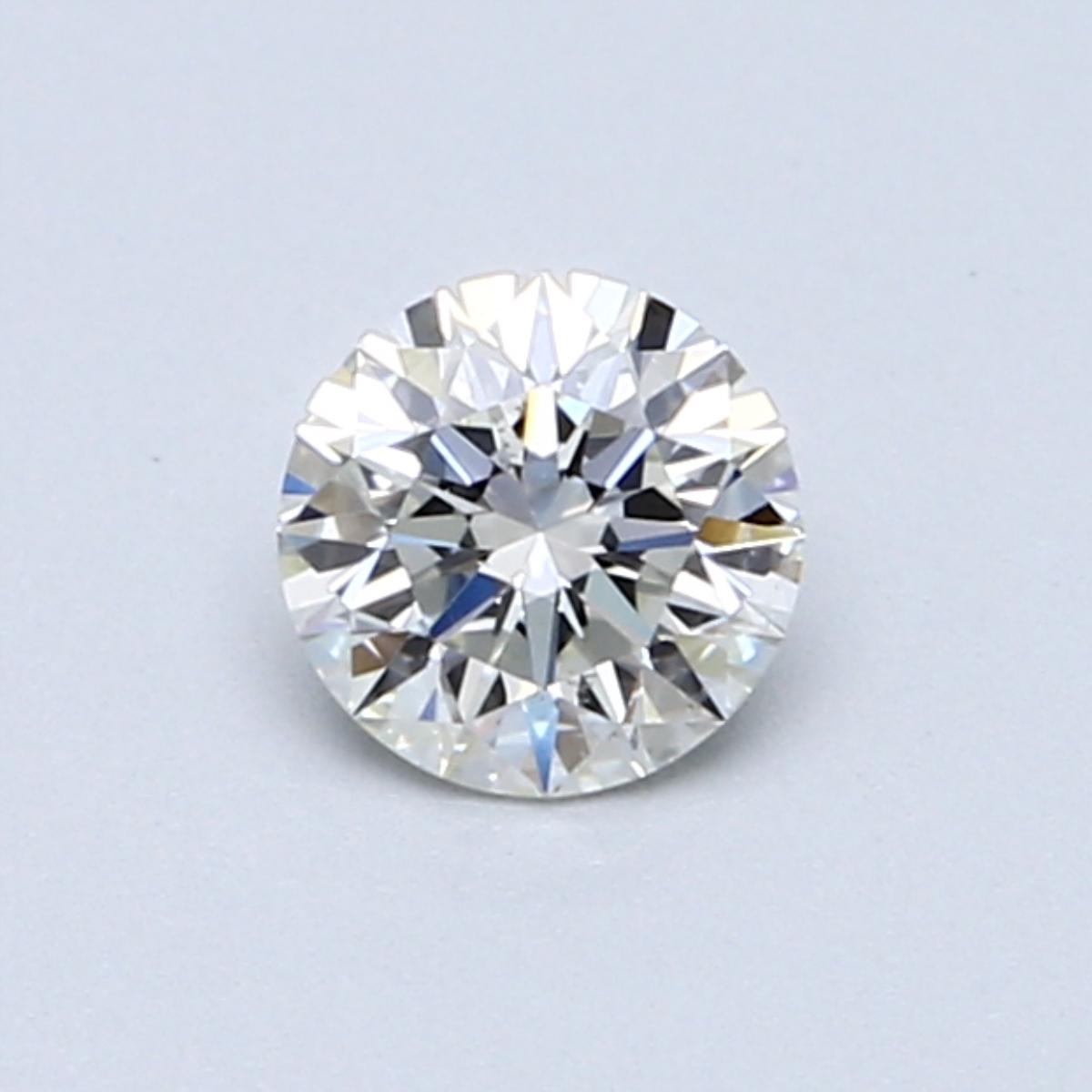 0.50 Carat J SI2 Round Diamond