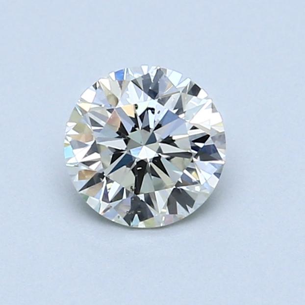 0.68 Carat I SI2 Round Diamond