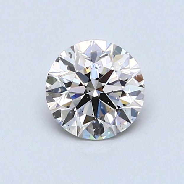0.70 Carat J SI2 Round Diamond