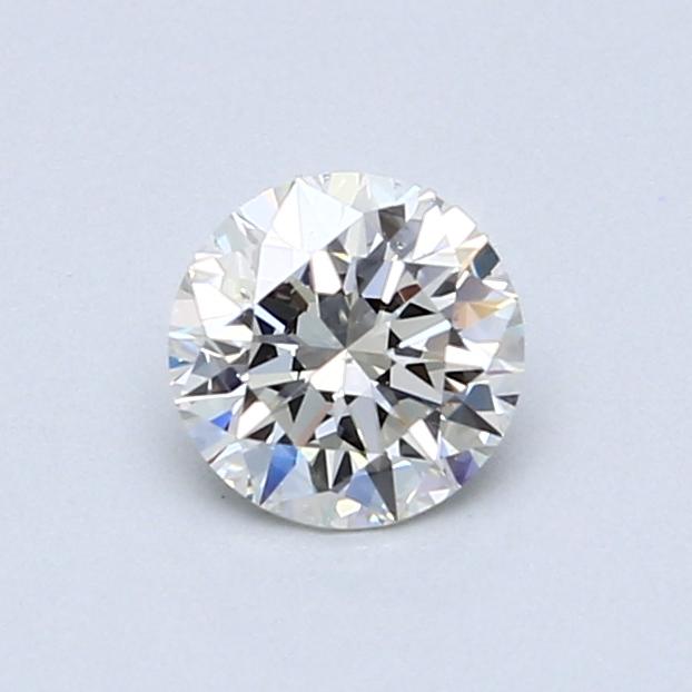 0.61 Carat J VS2 Round Diamond
