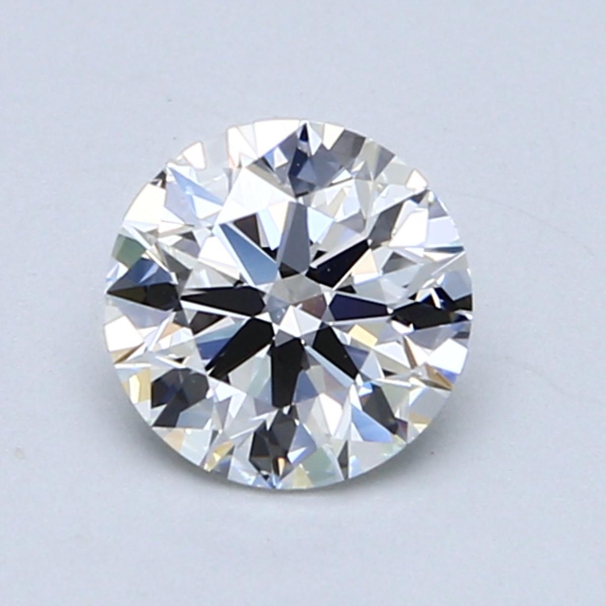 2.51 Carat E-VS1 Ideal Round Diamond