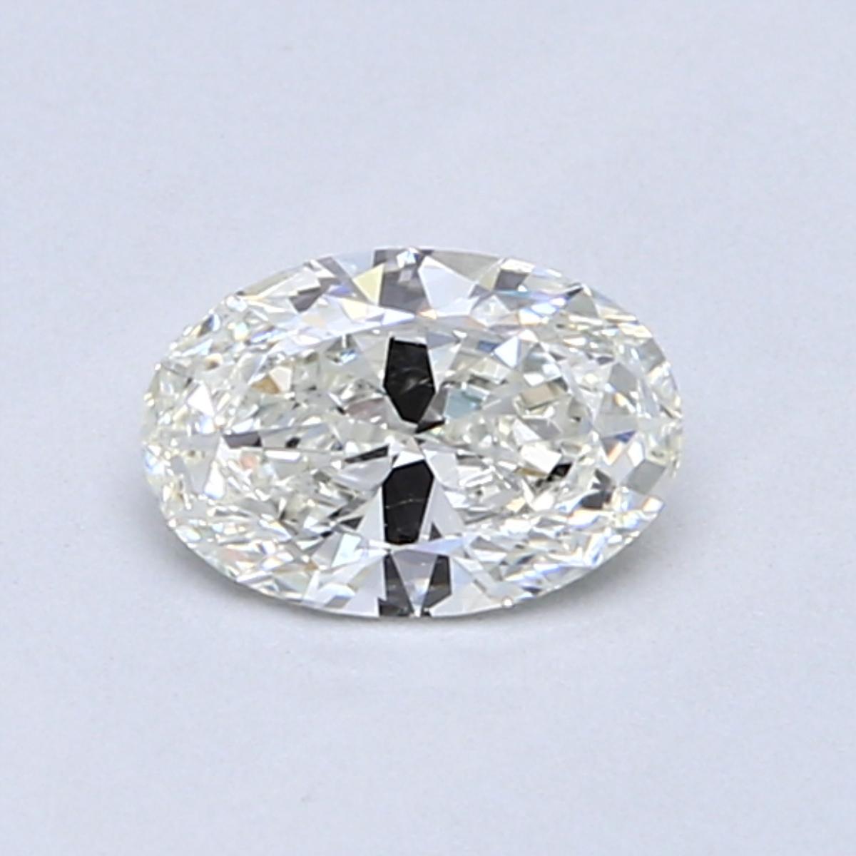 0.51 Carat I SI1 Oval Diamond