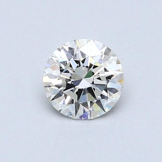 0.52 Carat G SI2 Round Diamond