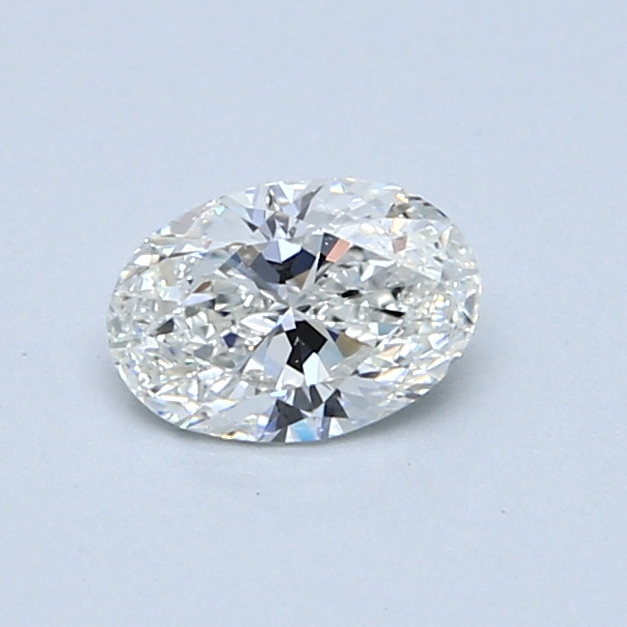 0.50 Carat F SI2 Oval Diamond