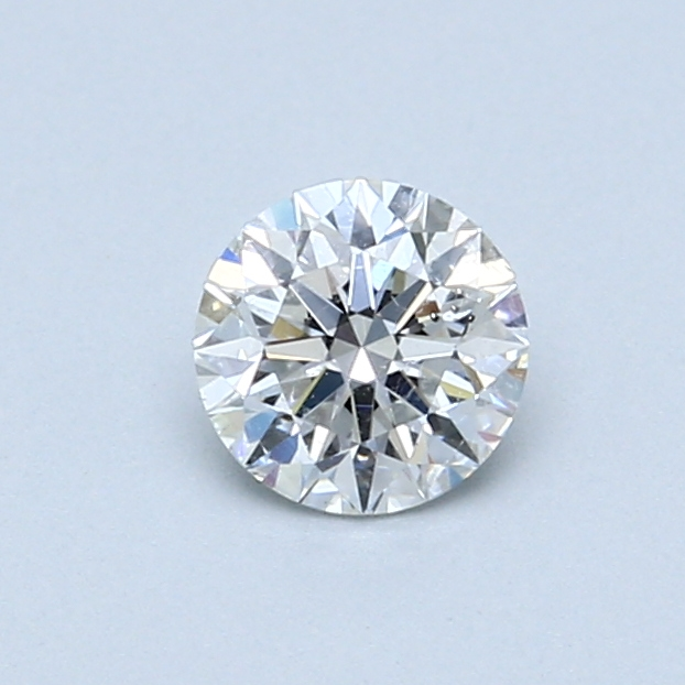 0.52 Carat E SI2 Round Diamond