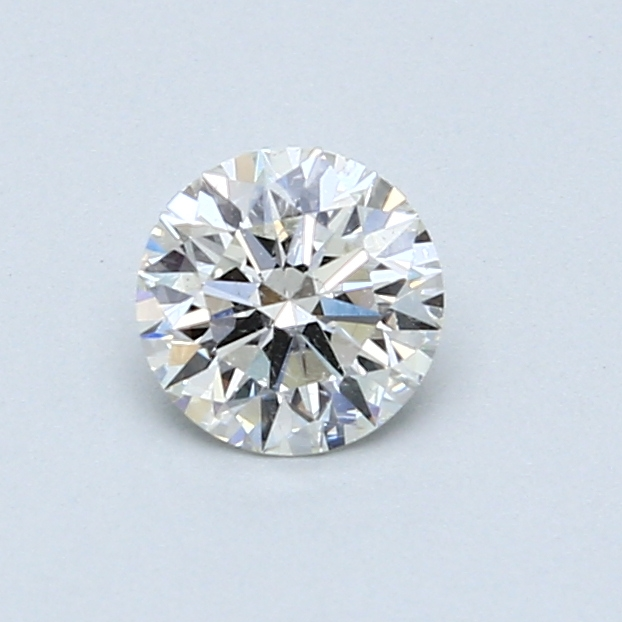 0.54 Carat H SI2 Round Diamond