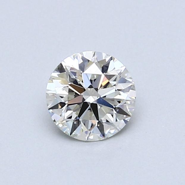 0.51 Carat I SI2 Round Diamond