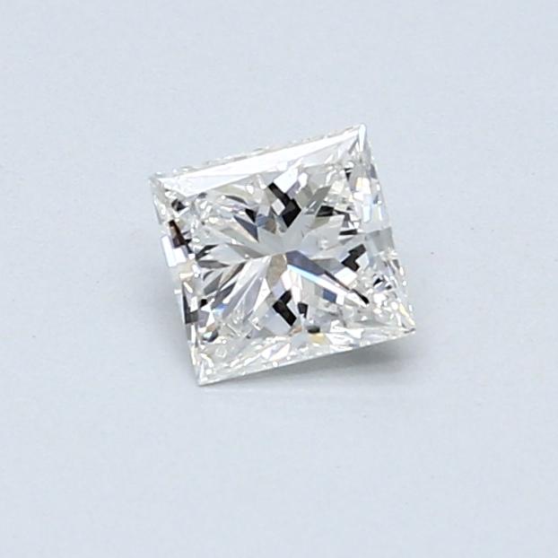 0.41 Carat F VS2 Princess Diamond