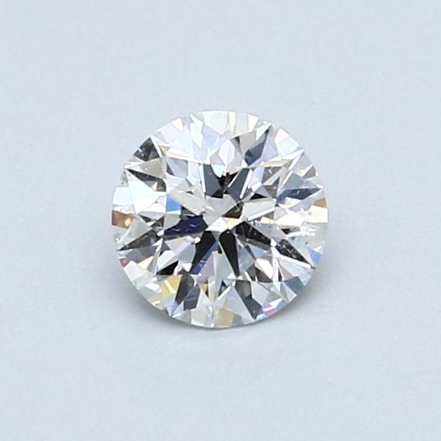 0.51 Carat F SI2 Round Diamond