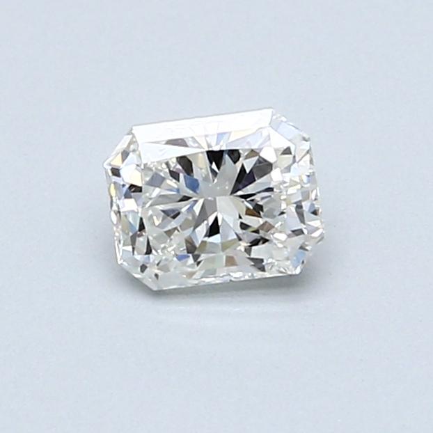 0.46 Carat H VS2 Radiant Diamond
