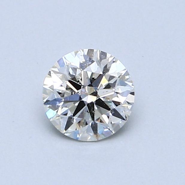0.54 Carat I SI2 Round Diamond