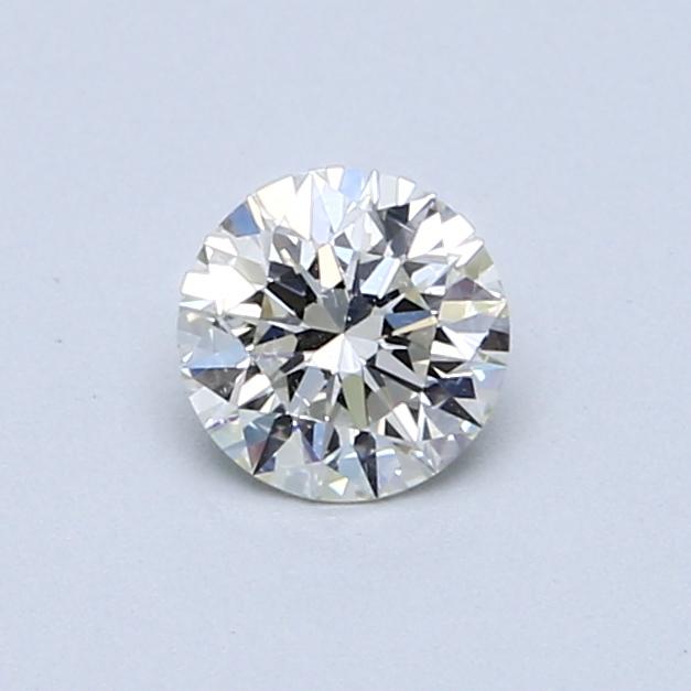 0.50 Carat K SI1 Round Diamond
