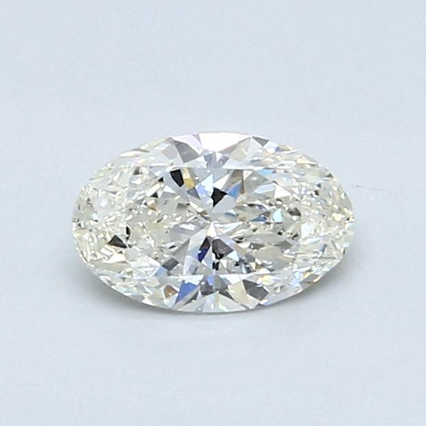 0.53 Carat I SI1 Oval Diamond