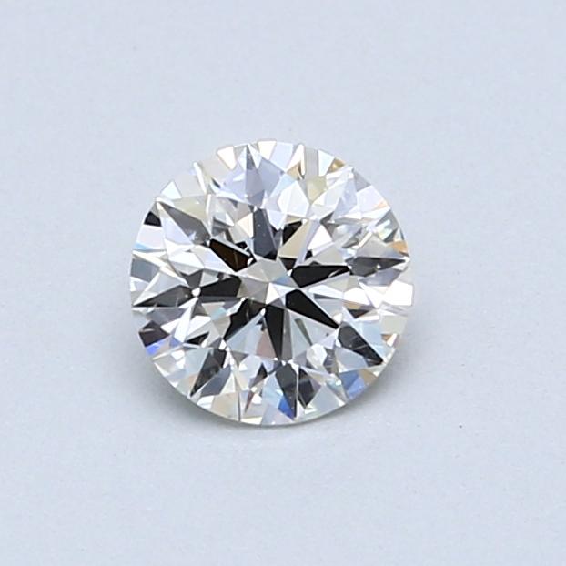 0.53 Carat I SI1 Round Diamond