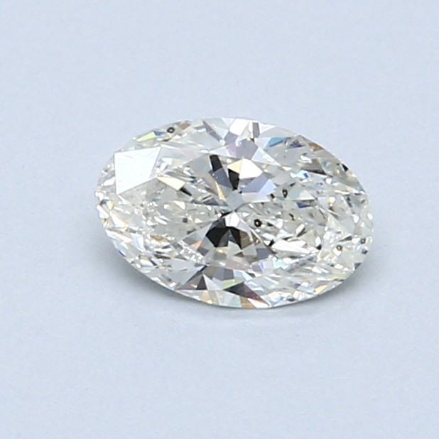 0.51 Carat I SI2 Oval Diamond